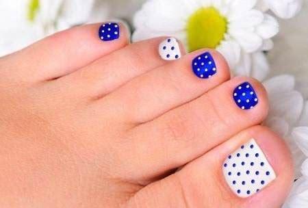 fotos uñas pintadas de pies 75 creativos dise 241 os de u 241 as decoradas con puntos f 225 ciles