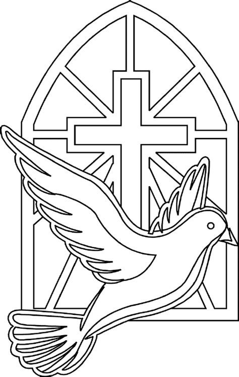 holy spirit coloring pages catholicmom school ideas