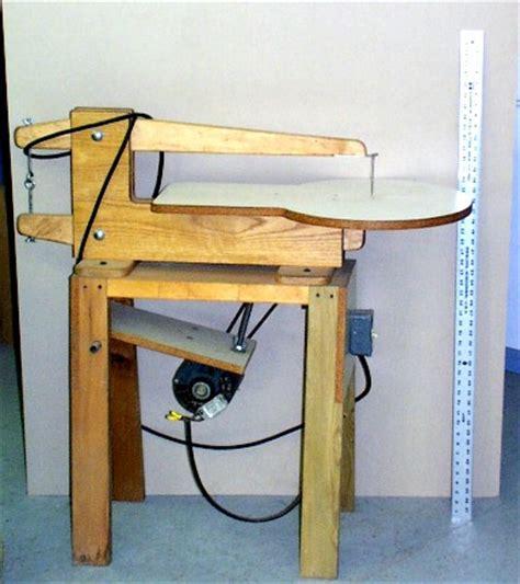 scroll saw bench plans saws