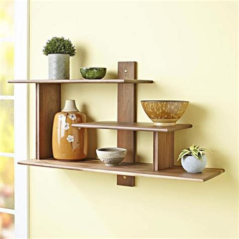 modern wall shelf wood magazine
