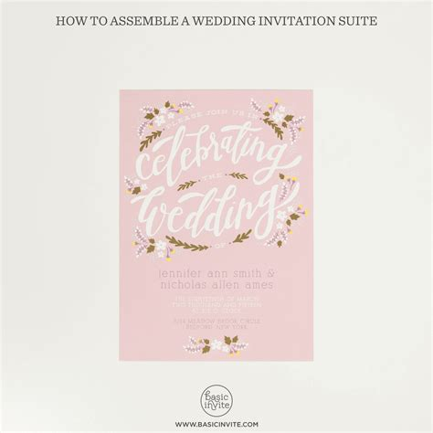 Wedding Invitation Assembly by How To Assemble Wedding Invitations Basic Invite
