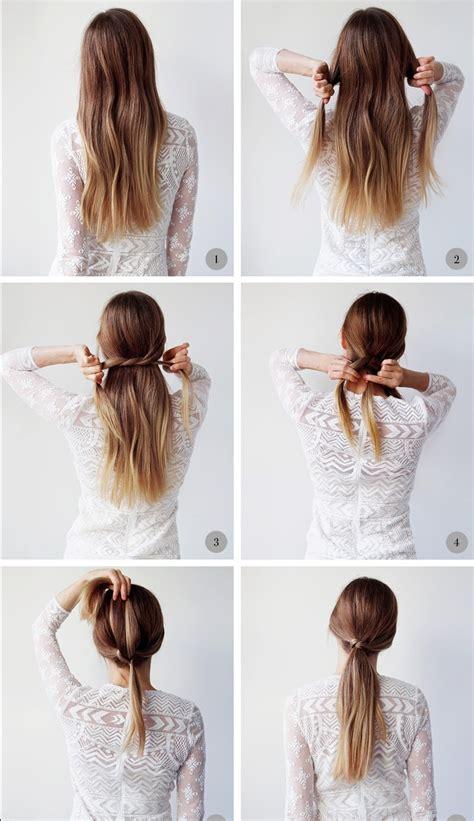 coiffure cheveux mi rapide et facile fashion designs