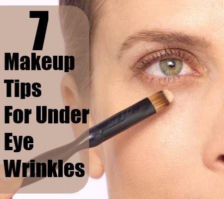 would bangs hide my crows feet simple makeup tips for under eye wrinkles how to hide