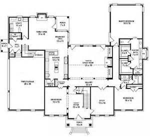 5 Bedroom 4 Bathroom House Plans 653900 Two Story 4 Bedroom 4 5 Bath French Traditional