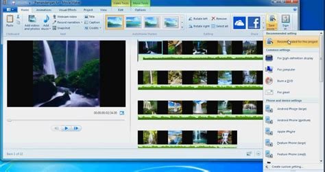 tutorial windows movie maker 2 1 tutorial cara menyimpan vidio windows movie maker ke mp4