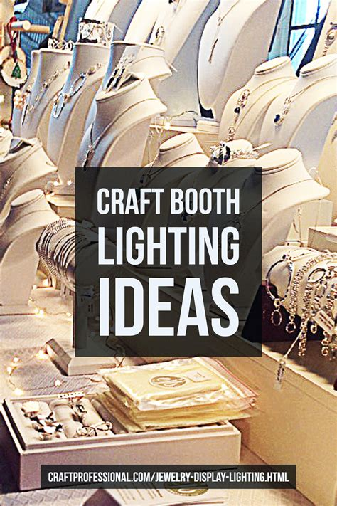 craft booth lighting jewelry display lighting photos craft booth displays