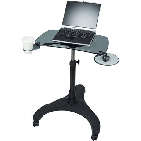 Laptop Standing Desk Aidata Portable Laptop Desk In Computer And Laptop Carts