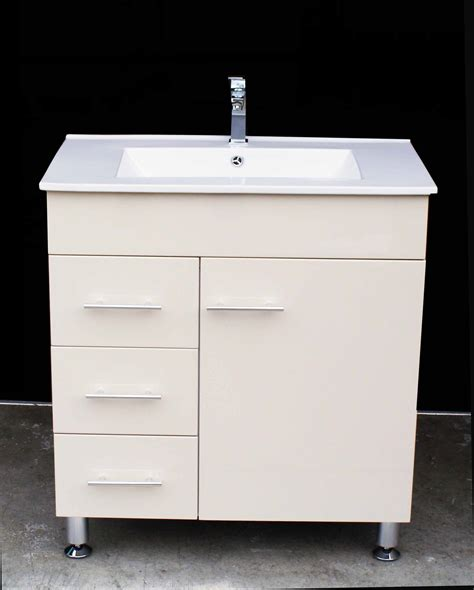 metal leg bathroom vanity artemis wpl750li 750mm ivory color polyurethane bathroom