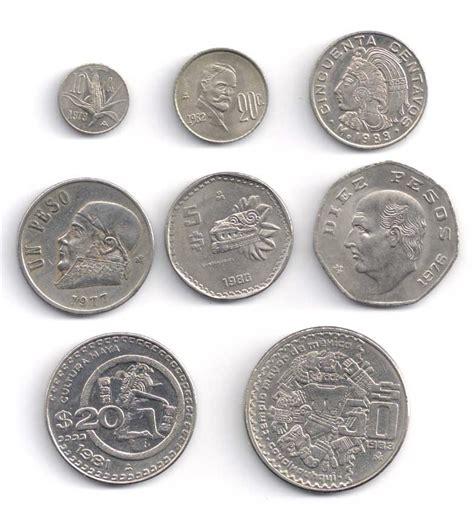 Imagenes Monedas Antiguas De Mexico | set de 8 monedas antiguas de mexico d 233 cada de los 70 s
