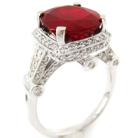 ruby engagement rings ruby engagement rings diamonds