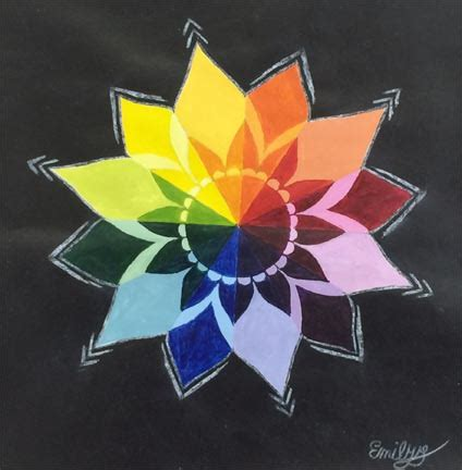color wheel flower designs www pixshark images galleries with a bite