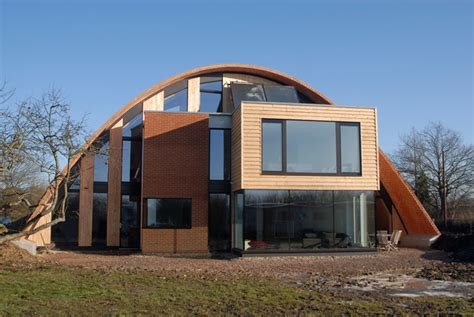 eco houses design crossway zero carbon house in uk digsdigs