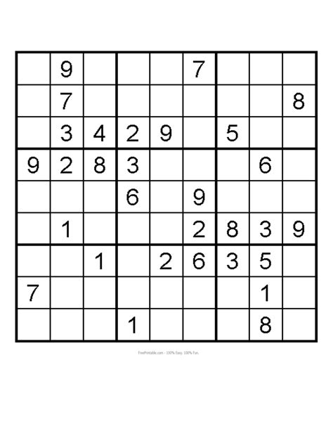 printable medium sudoku sheets 4 best images of free medium printable sudoku sudoku