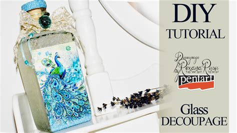 What Can You Decoupage - glass decoupage decoupage tutorial