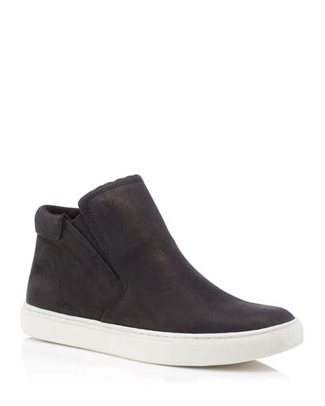kenneth cole high top sneakers kenneth cole kalvin nubuck leather slip on high top