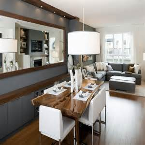 Living and dining room design ideas with small living room dining room