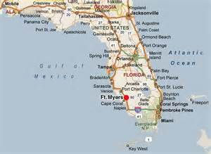 ft myers florida map the fountains location page