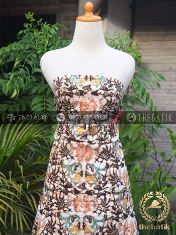 Dress Batik Cap Wonogiren Lucia jual bahan batik remukan coletan motif wahyu tumurun
