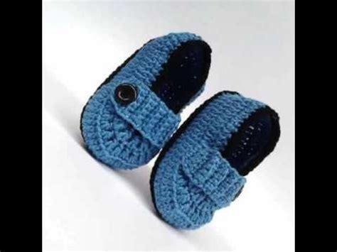 zapatos de varon tejidos al crochet como hacer zapatitos tejidos a crochet para ni 241 o youtube