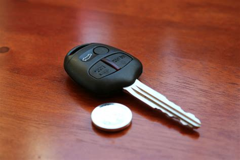 mitsubishi key replacement mitsubishi remote key battery replacement
