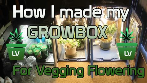 How I made my Grow Box for Vegging and Flowering :) LV