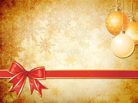 Decoration Templates by Gold Decorations Powerpoint Template