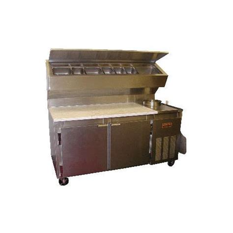 marsal and sons pizza prep tables universal coolers mdr 6 refrigerated pizza dough