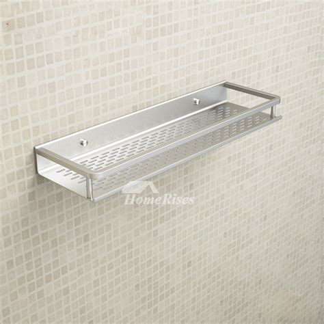 Cheap Aluminum Bathroom Shelves Wall Mounted Painting Bathroom Wall Mounted Shelves
