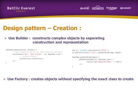 javascript pattern mini training javascript patterns
