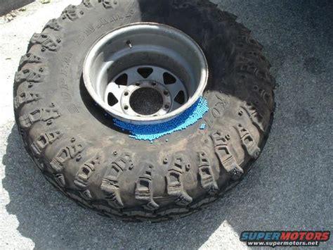 do tire balancing work smuggling 101 aka bead balancing tires ford bronco