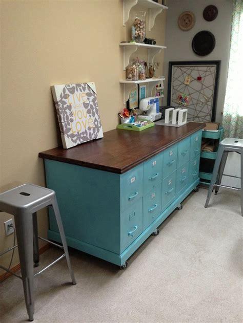 gray table   craft table diy diy