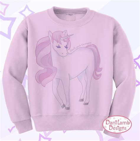 Unicorn Sweatshirt kawaii unicorn sweater kei pastel unicorn sweatshirt