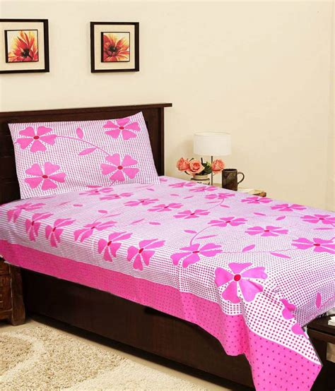 light pink bed pillows christy s collection light pink floral cotton single bed