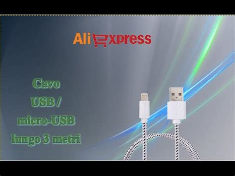 aliexpress unboxing acquisti 78 cable usb microusb