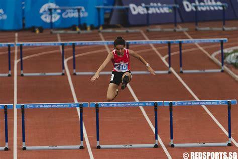 hurdles basketball sea athletics 400m hurdles dipna lim prasad
