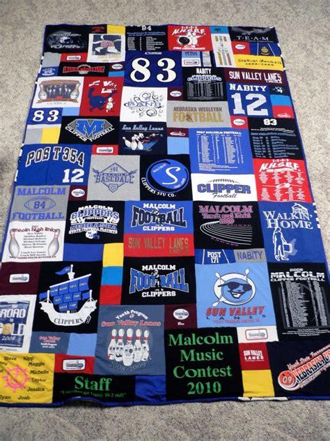 Tshirt Quilt Maker by Graduation Gift Idea A T Shirt Quilt Snugasabugbaby