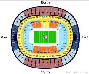 wembley stadium seating plan nfl american football