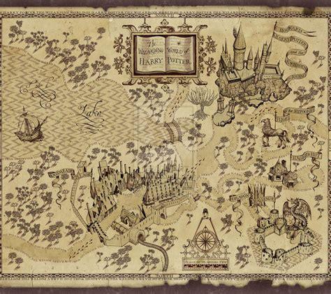 harry potter map harry potter s marauders map by ilovechez on deviantart