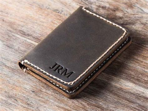 For Leather by Outstanding Leather Credit Card Holder For Gifts For