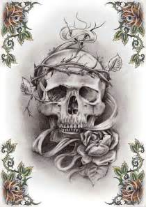 skull tattoo patterns free patterns