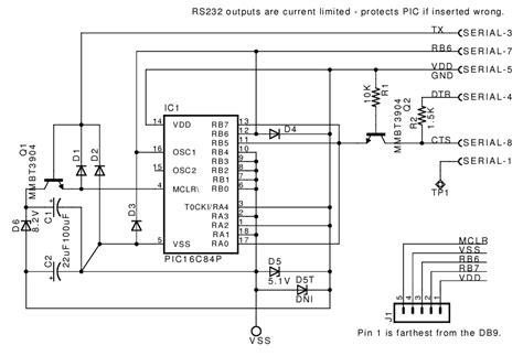 jdm programmer circuit diagram pin jdm programmer on