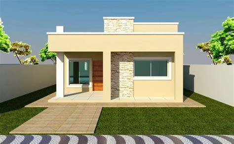 fachadas de casas de un piso fachada sencilla y bonita para casa de un piso peque 241 a