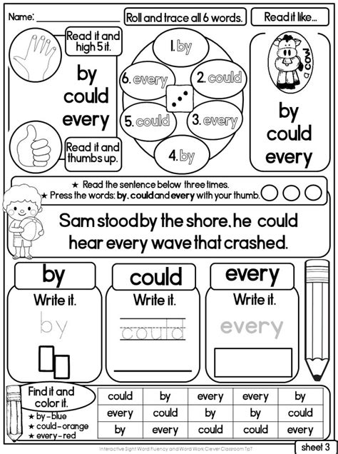 printable flash cards for first grade 17 best images about sight words on pinterest words