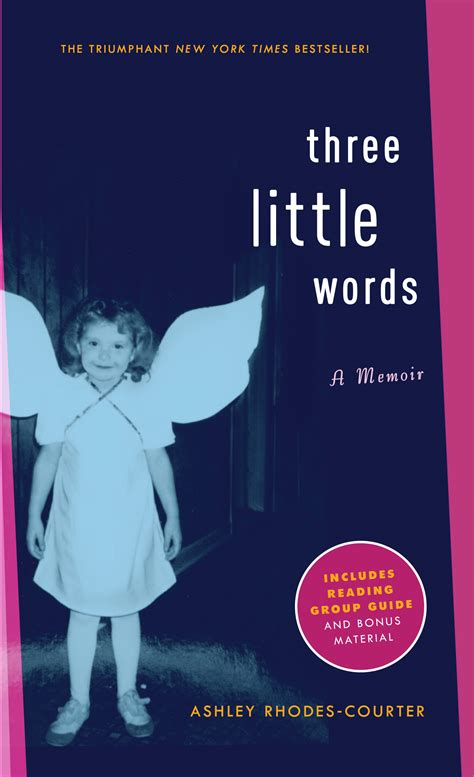 three words book by courter