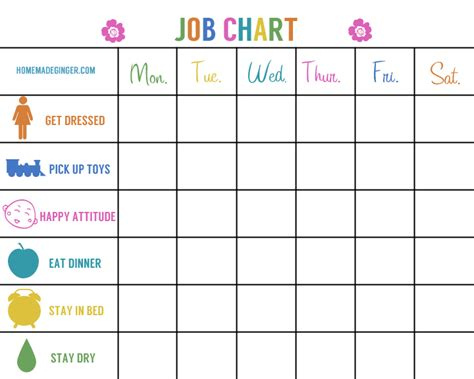 printable reward charts for 2 year olds two free printables homemade ginger