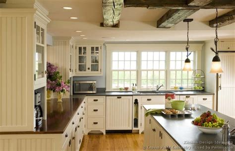 Ideas For Country Style Kitchen Cabinets Design Country Kitchen Design Pictures And Decorating Ideas