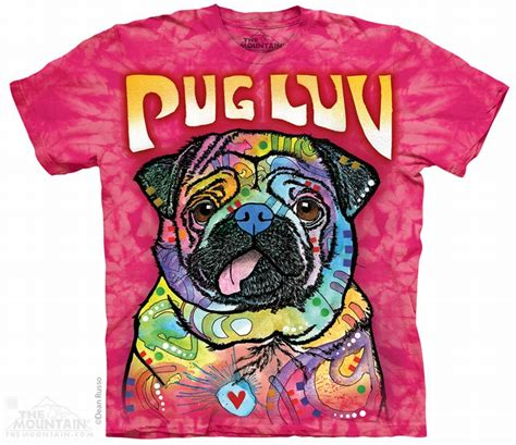 the mountain pug shirt the mountain t shirt the mountain t shirt mops pug tierisch tolle geschenke