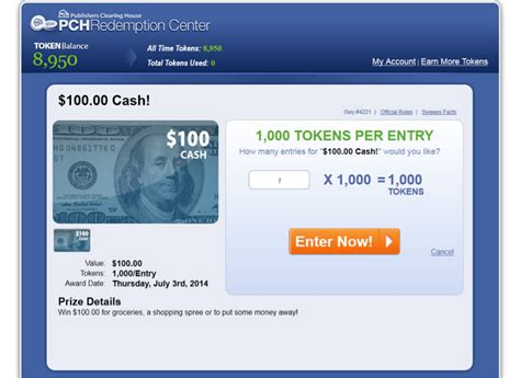 Pch Tokens - the results are in may redemption center winners at pch com pch blog