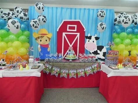 granjero zenon decoraci 243 n de la granja de zenon para cumplea 241 os la