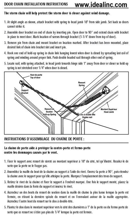 Door Chain Installation by Ideal Security Sk14 Door Chain Lowe S Canada